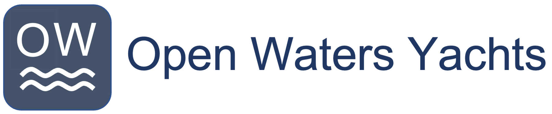 Open Waters Yachts Logo